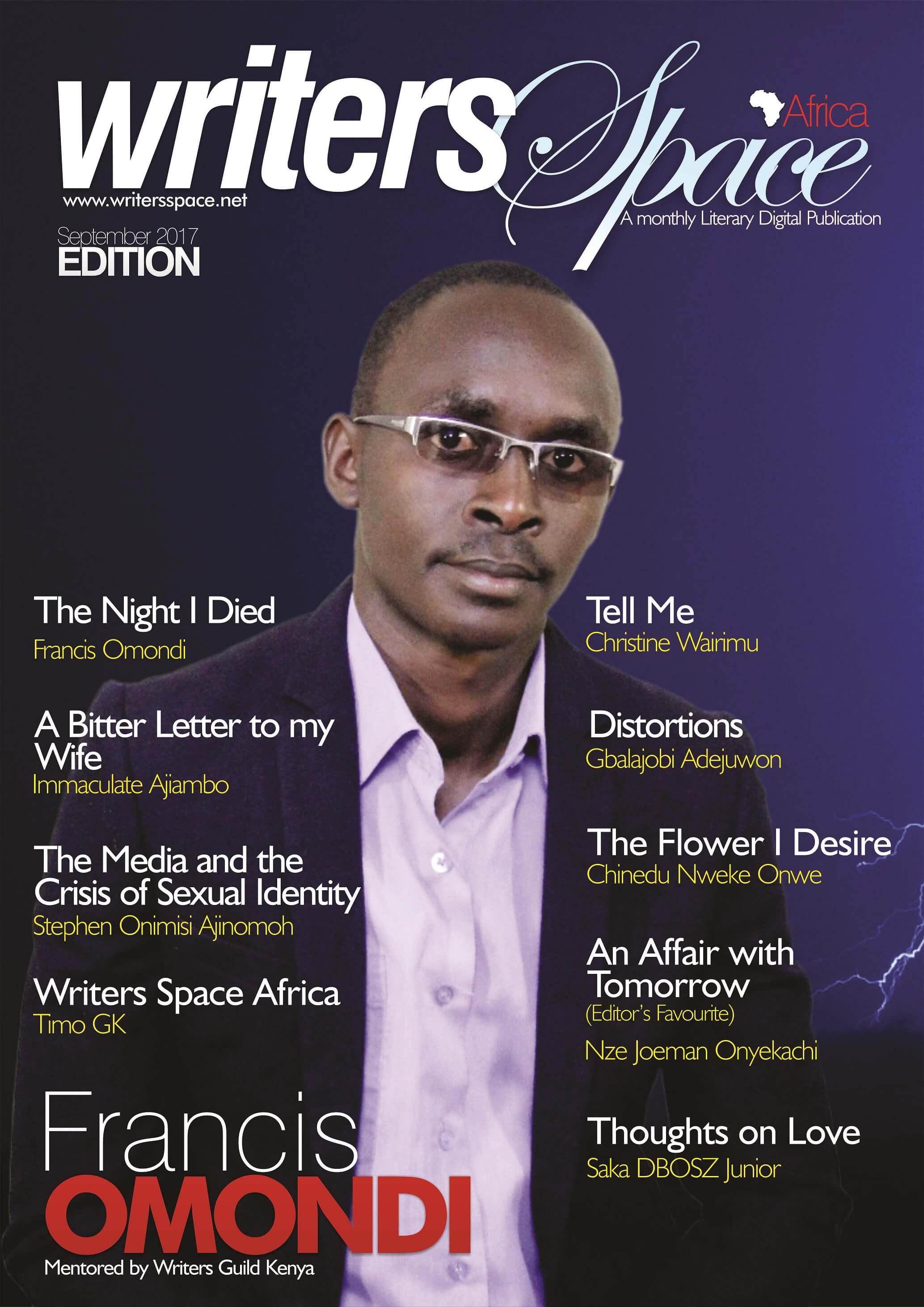 September Literary Publication