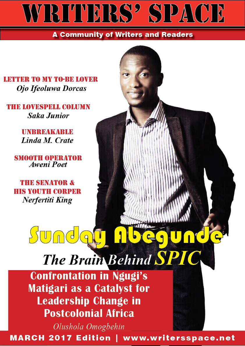 March Literary Publication