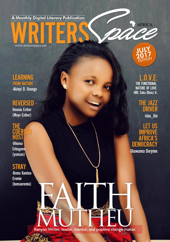 July Literary Publication